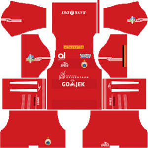 Persija Jakarta Kits 2018/2019 Dream League Soccer