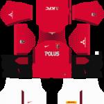 Urawa Red Diamonds Kits 2018/2019 Dream League Soccer