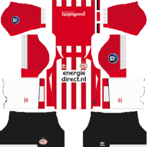 PSV Eindhoven Kits 2018/2019 Dream League Soccer
