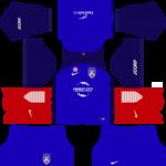 Johor Darul Takzim Kits 2018/2019 Dream League Soccer