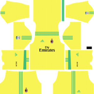 AC Milan Goalkeeper Away Kit 2018