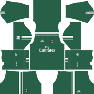 AC Milan Goalkeeper Home Kit 2018