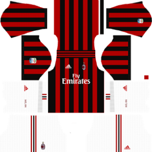 AC Milan Kits 2017/2018 Dream League Soccer