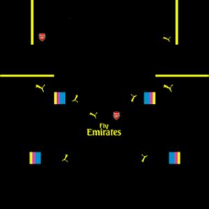 Arsenal Goalkeeper Home Kit 2017