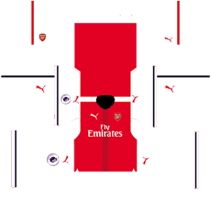 Arsenal Kits (Special) 2016/2017 Dream League Soccer