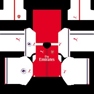 Arsenal Kits (Special) 2016/2017 Dream League Soccer