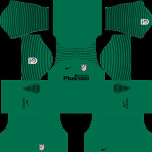 Atlético Madrid Goalkeeper Home Kit 2017