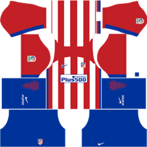Atlético Madrid Kits 2016/2017 Dream League Soccer