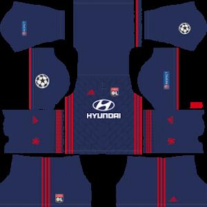 Olympique Lyonnais Away Kit: