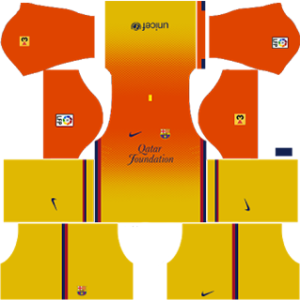 Barcelona Away Kit 2013