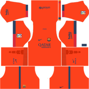 Barcelona Away Kit 2015