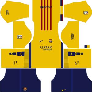 Barcelona Away Kit 2016