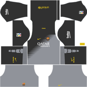 Barcelona Goalkeeper Away Kit 2015