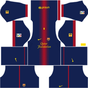 Barcelona Kits 2012/2013 Dream League Soccer