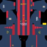 Barcelona Kits 2014/2015 Dream League Soccer