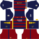 Barcelona Kits 2015/2016 Dream League Soccer