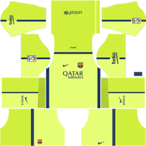 Barcelona Third Kit 2015