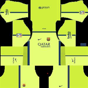 Barcelona Third Kit 2015