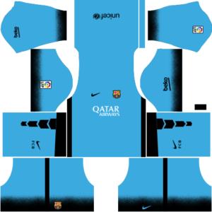 Barcelona Third Kit 2016