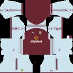 Burnley FC Kits 2017/2018 Dream League Soccer