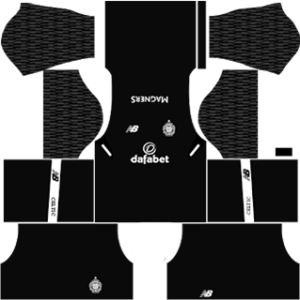 Celtic FC Goalkeeper Away Kit 2018