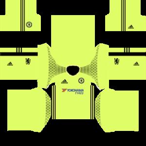 Chelsea Goalkeeper Home Kit 2017
