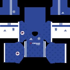 Chelsea Kits 2016/2017 Dream League Soccer