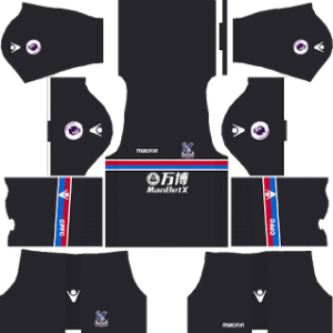 Crystal Palace FC Away Kit 2018