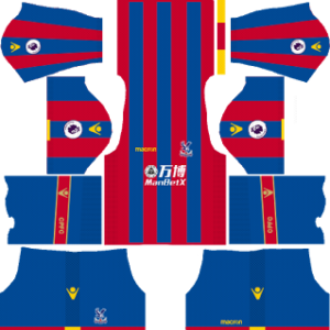 Crystal Palace FC Kits 2017/2018 Dream League Soccer
