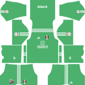 Fulham FC Goalkeeper Away Kit 2018