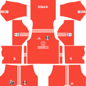 Fulham FC Goalkeeper Home Kit 2018