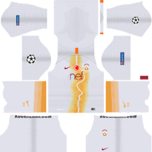 Galatasaray S.K. UCL Third Kit