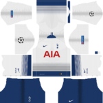Tottenham Hotspur UCL Kits 2018/2019 Dream League Soccer