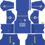 Leicester City Kit 2017/2018 Dream League Soccer