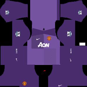 Manchester United Goalkeeper Third Kit 2014