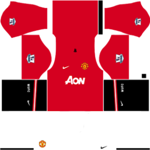 Manchester United Kits 2013/2014 Dream League Soccer