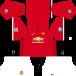 Manchester United Kits 2014/2015 Dream League Soccer