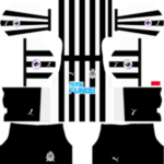 Newcastle United FC Kits 2017/2018 Dream League Soccer
