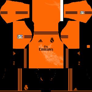 Real Madrid Goalkeeper Third Kit 2015