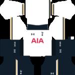 Tottenham Hotspur Kits 2016/2017 Dream League Soccer