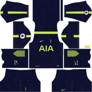 Tottenham Hotspur Third Kit: