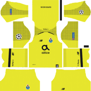 FC Porto UCL Goalkeeper Away Kit