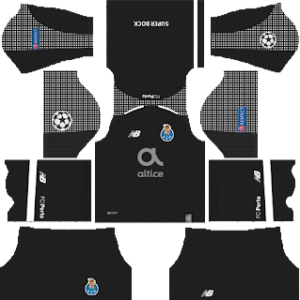 FC Porto UCL Goalkeeper Home Kit