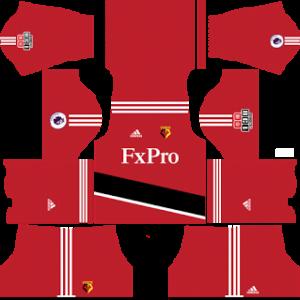 Watford FC Kits 2017/2018 Dream League Soccer