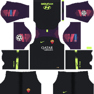 AS Roma Goalkeeper Away Kit