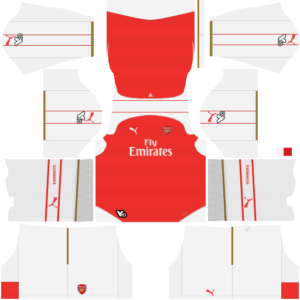 Arsenal Kits 2015/2016 Dream League Soccer