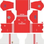 SL Benfica UCL Kits 2018/2019 Dream League Soccer