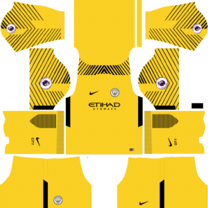 Manchester City Goalkeeper Away Kit:
