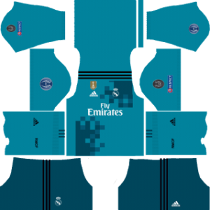 Real Madrid Ucl Kits 2017 2018 Dream League Soccer Fts Dls Kits
