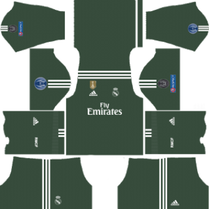 Real Madrid Goalkeeper Home Kit